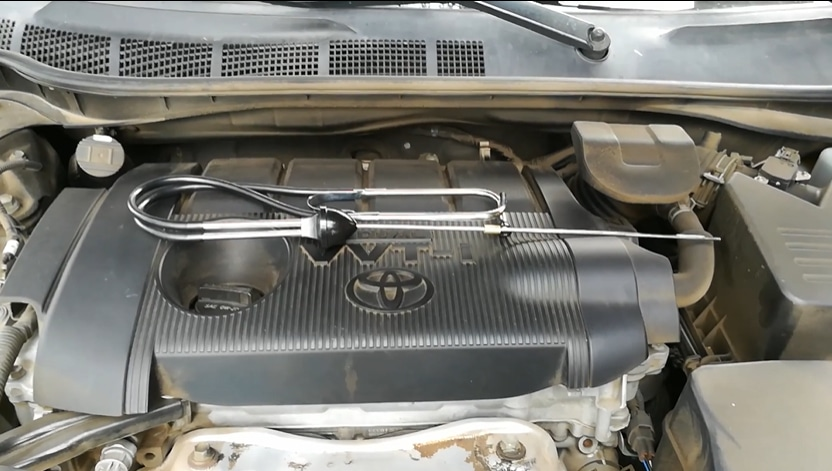 Toyota Engine with cover