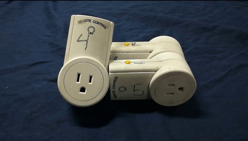 remote controlled power outlets