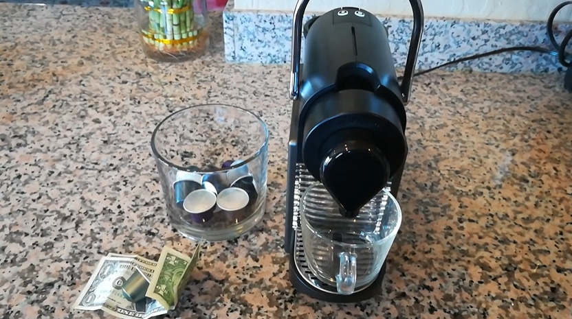 Nespreso coffee maker